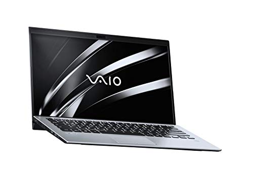 VAIO SX14 Laptop 35,56 cm (14 Zoll) (Ultra-HD IPS-Display, Intel Core i7- 8565U, 512 GB SSD, 16GB LPDDR3 RAM, Windows 10 Pro, LTE, W-LAN, Bluetooth, HDMI, USB 3.1, Webcam) Notebook, Silber