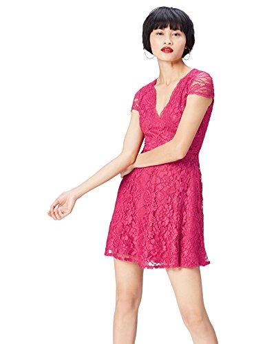 find. 13612 vestiti donna, Rosa (Fushia), 46 (Taglia Produttore: Large)