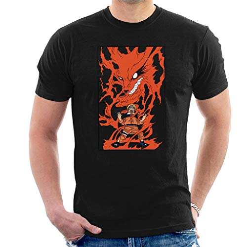 Naruto Nine Tailed Fox Rage Men's T-Shirt