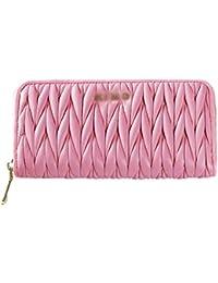 d426b75c88 WEIFAN-wallet purse Portafoglio da Donna Portafoglio Lungo da Donna  Portafoglio con Cerniera Portafoglio in