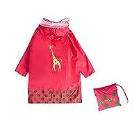GIM Kid Rain Coat,Cartoon Waterproof Children