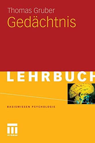 Gedächtnis (Basiswissen Psychologie) (German Edition)