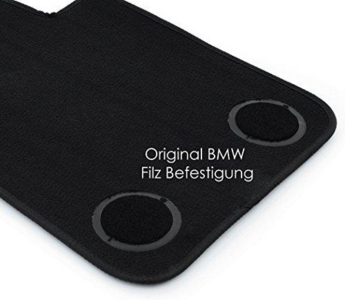 Tappetini BMW e90 e91 e92 e93 m3 3er originale qualità velluto tappeto auto 2x NUOVO