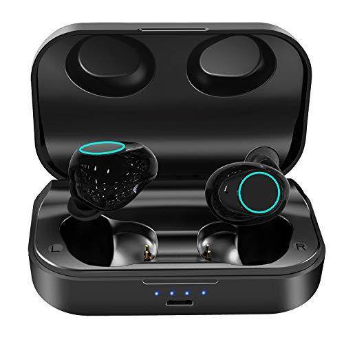 ZoeeTree i18 Bluetooth Kopfhörer Kabellos, In Ear Sport Bluetooth 5.0 Headset Wireless Earbuds Touch-Control 120 Std Spielzeit mit 3000mAh Ladebox Kabellose Sportkopfhörer für iPhone Samsung Huawei