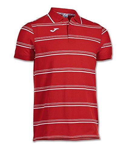 Joma Naval - Polo für Herren, Farbe schwarz  Größe Rot