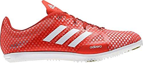 adidas Adizero Ambition 4, Chaussures d'Athlétisme Femme Rouge (Solar Red/running White/black)