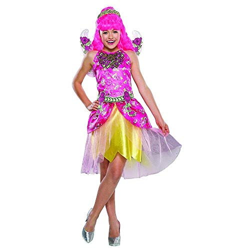Für Cupid Kostüm Kind - RubieCostumes Ever After High C a Cupid Kinder Mädchen Fasching Halloween Karneval Kostüm Kleid + Perücke (Medium 122-128)