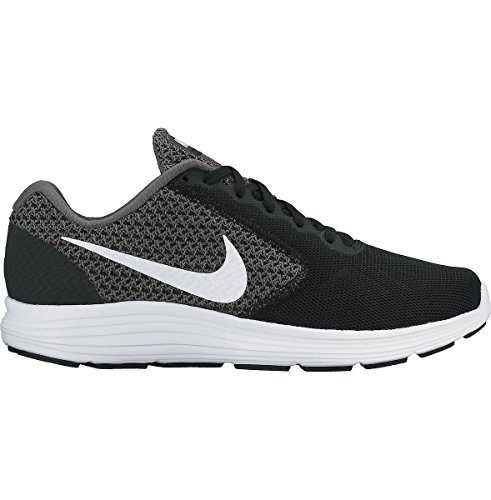NikeNike Revolution 3, Damen Laufschuhe - Scarpe Running Donna DARK GREY/WHITE-BLACK