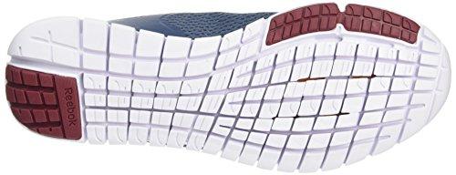 Reebok Zquick Lite, Chaussures de Running Entrainement Homme Bleu (Slate/Royal Slate/Merlot/White)