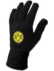 Borussia dortmund bVB drapeau 'smartphone'de gants Noir m