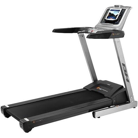 BH Fitness i.S Premium - Cinta de correr para fitness ( cardio, 2,75 ps, 115 kg ), color negro, plateado, talla 174 x 82 x 141 cm