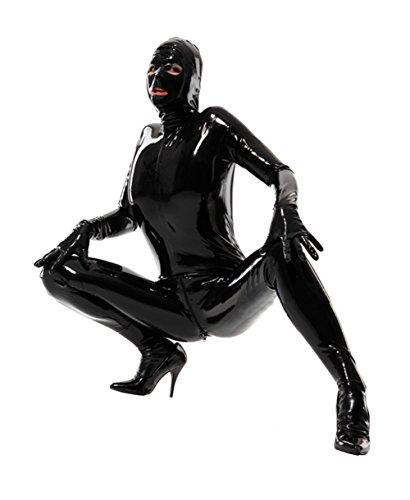 queenshiny-neu-ganzkorperanzug-anzug-suit-kostum-schwarz-xl