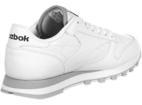 Reebok Classic Leather, Scarpe da Ginnastica Uomo Bianco