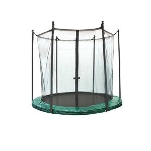 Jumpline H20512-Otto - Red de seguridad para trampolín, verde, 305 cm