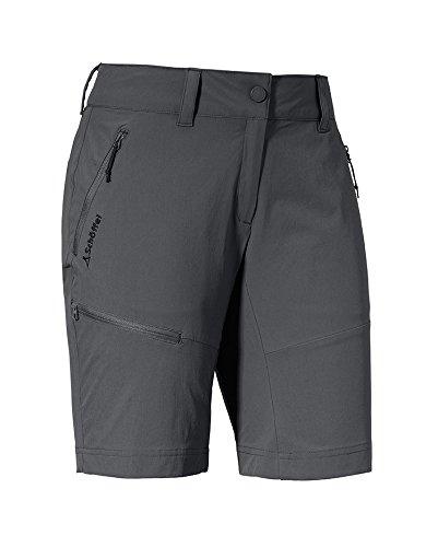 Schöffel Damen Shorts Toblach1 Hose Kurz, Asphalt, 38