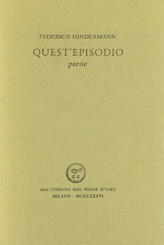 Preisvergleich Produktbild Quest'episodio (Acquario)