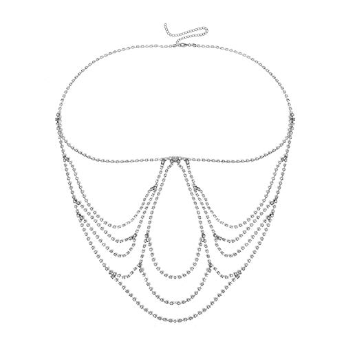 Zubehör strass klaue kette körper kette heißer bikini bekleidungskette