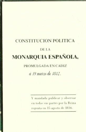 Constitución Española de 1812 (Monografía) por Dpto. Editorial Editorial Lex Nova