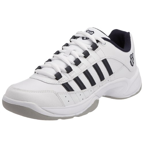 K-Swiss Performance Herren Outshine Eu Carpet Tennisschuhe Weiß (White/Navy 109)