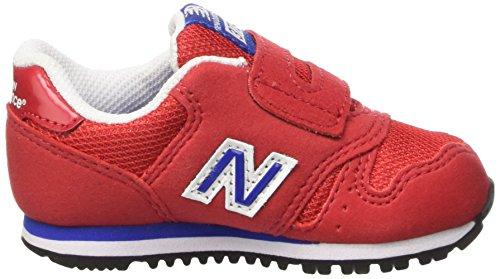 New Balance Nbkv373rdi, Debout Chaussures Bébé Mixte Enfant Rosso (Red Navy M)