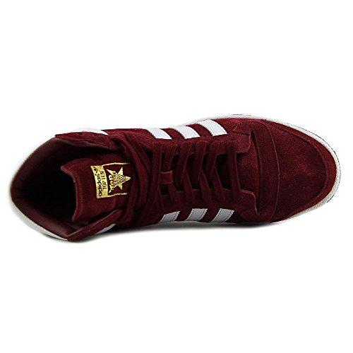 Adidas Originals Top Ten Salut chaussure de basket, blanc / rouge / bleu, 8 M Us Cburgu-Ftwwht-Cburgu