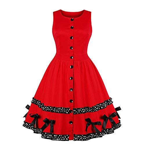 Vectry schöne Abendkleider lang Festkleider Elegante Kleider kurz -
