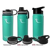 ACTIVE FLASK von BeMaxx Fitness 530ml (Aquatic Cyan) - 2