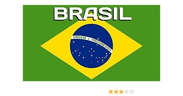 Serviette de plage drapeau Brésil Brazil 75//150cm