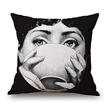 Elliot_yew Funny Piero Fornasetti decoración patrón algodón ...