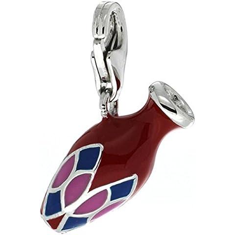 Revoni-Collana in argento Sterling con ciondolo a forma di urna Vaso contenitore per braccialetti, 3/10 (Sterling Argento Urna)