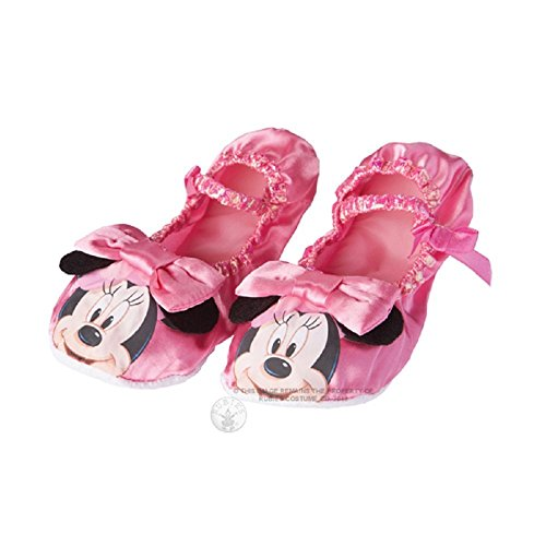 Imagen de rubie 's–oficial minnie mouse zapatillas, niño disfraz–un tamaño, rosa