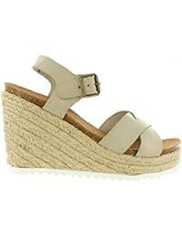 Sandalias de Mujer KICKERS 502040-50 YUTI 31 BLANC CASSE Talla 41