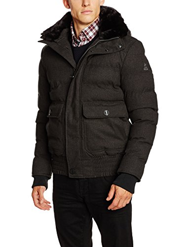 Petrûs Herren Jacke Jasper, Grau (Black Coffee 006), Medium