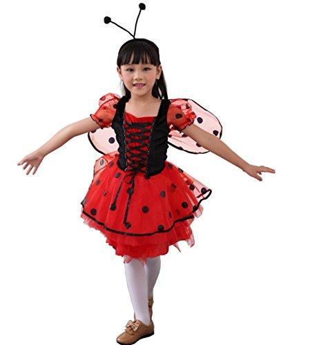 Ideen Kostüm Rapunzel (D'amelie Prinzessin Kostüm Kinder Glanz Kleid Mädchen Weihnachten Verkleidung Karneval Rollenspiele Party Halloween)