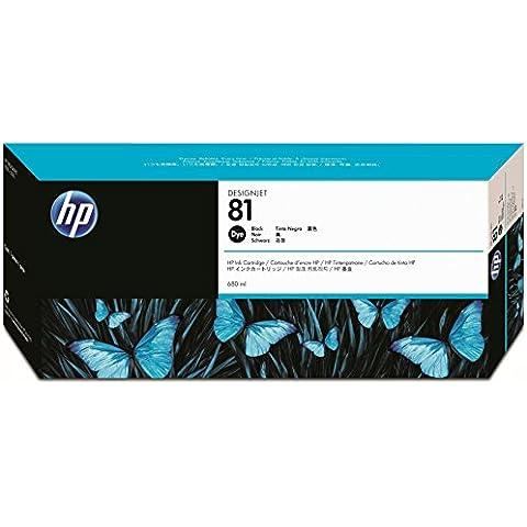 HP C4930A - Cartucho de tinta para HP DesignJet 5000, 680 ml, Negro