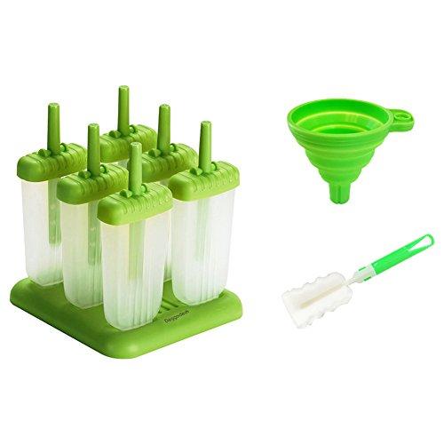 deggodech-6-pcs-moule-a-sucette-glacee-en-plastique-avec-sponge-cup-brush-et-entonnoir-de-pliage-reu