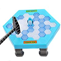 لعبة البطريق وضرب كتل الجليد للاطفال لعبة احجية تفاعلية لسطح المكتب