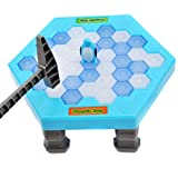 Hit Penguin ice blocks toys children desktop interaction Puzzle game