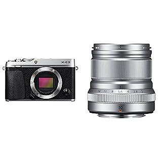 Fujifilm X-E3 - Cuerpo de cámara EVIL de 24.3 MP, color plata + Fujifilm Fujinon XF50 mm F2 R WR - Objetivo para Fujifilm con montura X (distancia focal de 50 mm, apertura f/2-16, autofocus) plata (B07F947YG5) | Amazon price tracker / tracking, Amazon price history charts, Amazon price watches, Amazon price drop alerts
