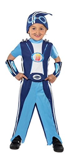 SMIFFYS Lazy Town Sportacus Costume