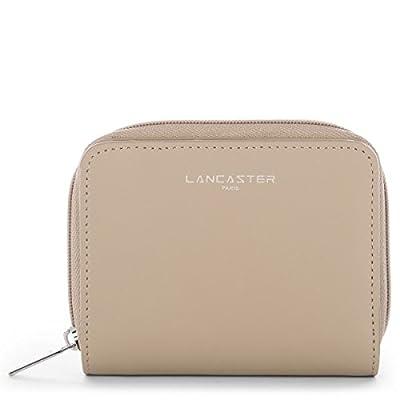 Lancaster - Portefeuille Lancaster en cuir ref_lan41893-noir-bn-12.5*10*4