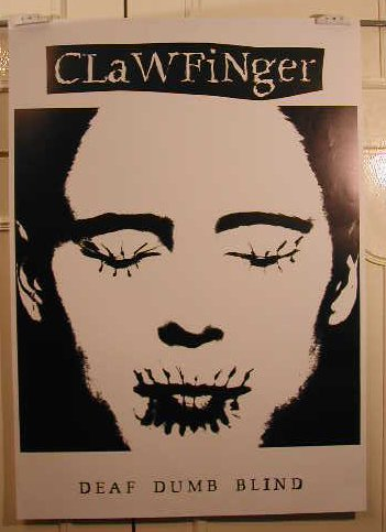 Clawfinger-60x 84cm Mostra/Poster