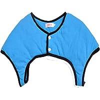 Anqeeso Cotton Shoulder Warmers, Winter Warm Back Shoulder Wrap zur Vorbeugung von Arthritisschmerzen
