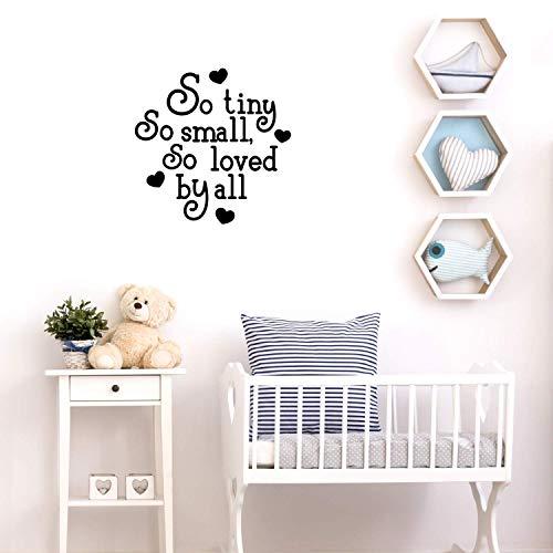 Cartoon-Stil so klein, so klein, so beliebt bei allen Wohnkultur Wandaufkleber für Kinderzimmer Dekoration Wandaufkleber Tapete 57 cm x 57 cm