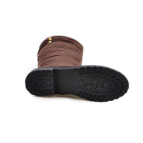 Balamasaabl09743 - Sandales Pour Femmes Avec Wedge Marron
