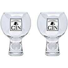 Durobor Alternato Copa de Vino con Tallo Corto Vaso de Gin 540ml - Pack de 2
