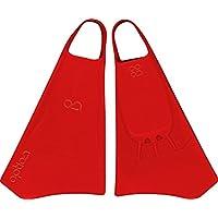Option Aletas de Bodyboard Rojo Rojo Talla:L