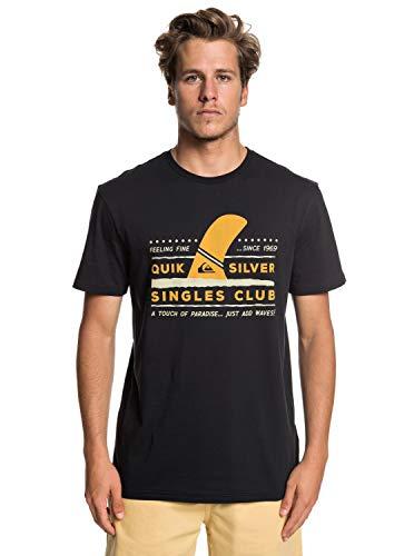 Quiksilver Wave Paradise T- T-Shirt Homme, Black, FR : L (Taille Fabricant : L)
