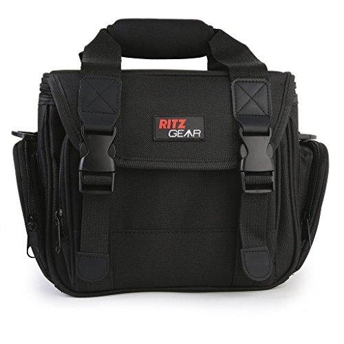 Ritz Gear SLR Digital Kamera Deluxe Gadget Tasche/Video Gepolsterte Tragetasche rgslrb