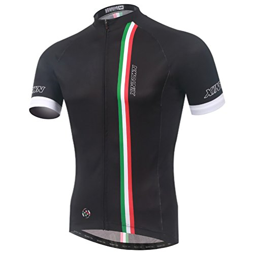 Baymate Unisexo Maillots Ciclismo Manga Corta Bicicleta Camiseta Transpirable S-3XL